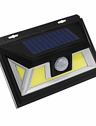 cheap -1pc 10 W Solar Wall Light Solar Cold White 3.7 V Outdoor Lighting / Courtyard / Garden 72 LED Beads