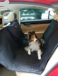 cheap -Dogs Cats Car Seat Cover Health Care Pet Carrier Portable Travel Folding Solid Colored Black Beige Gray