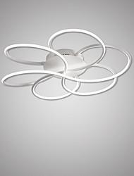 cheap -1-Light 60 cm Flush Mount Lights Aluminum Linear Painted Finishes Contemporary LED 110-120V 220-240V