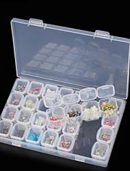 Недорогие -Коробка для хранения пластик Многофункциональный / Прочный Прозрачный