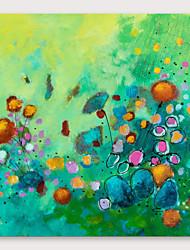 Недорогие -iarts&рег; ручная роспись цветной краской с натянутой рамкой для украшения дома