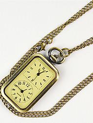 cheap -Men's Pocket Watch Quartz Gold New Design Casual Watch Analog Casual Fashion - Golden