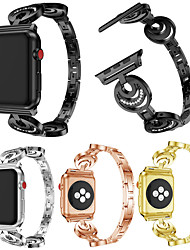 cheap -Watch Band for Apple Watch Series 4/3/2/1 Apple Classic Buckle / DIY Tools Metal Wrist Strap