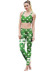 cheap -Catsuit Swimsuit Swimwear Cosplay Costumes Beach Girl Adults' Cosplay Costumes Cosplay Halloween Women's Green Printing Christmas Halloween Carnival / Vest / Pants / Vest / Pants