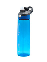 cheap -Kettle Sports Water Bottle Water Bottle 700 ml PP Durable for Camping / Hiking Cycling / Bike Traveling Black Violet Rough Black Sky Blue Fuchsia