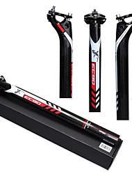 Недорогие -Углеродное волокно Стойка сидения 27.2/30.8/31.6 mm 400 mm Шоссейный велосипед Горный велосипед Велоспорт UD Черный Углеродное волокно