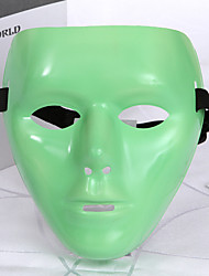 cheap -Cosplay Costume Mask Inspired by Devil Green Cosplay Halloween Halloween Carnival Masquerade Adults' Men's Women's