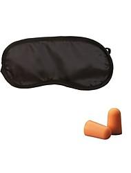 cheap -EyeShade Sleeping Eye Mask Cover Eyepatch Blindfolds Eyeshade Health Sleep Shield Light Goggles Earplugs
