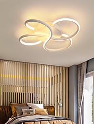 cheap -1-Light 42 cm Adjustable Flush Mount Lights Aluminum Linear Painted Finishes Contemporary LED 110-120V 220-240V