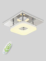 "cheap -1-Light 22(8.8"") LED Flush Mount Lights Metal Electroplated Modern Contemporary 90-240V"
