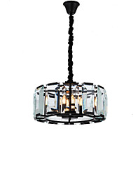 cheap -4-Light Mini Chandelier Uplight Electroplated Painted Finishes Metal Crystal 110-120V / 220-240V