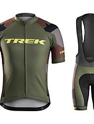 Недорогие -летние костюмы для езды на мотоцикле дышащие брюки с короткими рукавами lycra® / polyster quick dry велосипедная одежда комплект для унисекс
