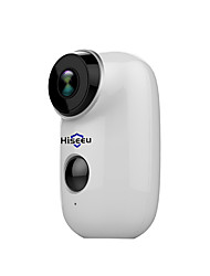 cheap -Hiseeu Hiseeu 100% Wire-Free Rechargeable Battery CCTV Wifi IP Camera Outdoor IP65 Weatherproof Home Security Camera PIR Motion Alarm 15 mp IP Camera Indoor Support