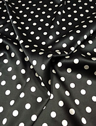 cheap -Satin Geometric Stretch 108 cm width fabric for Apparel and Fashion sold by the 0.5m