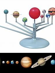 cheap -Solar System Model DIY Toys Child Science and Technology Learning Solar System Planet Teaching Assembly Coloring Educational Toy
