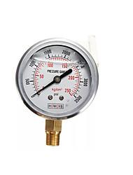 cheap -Hydraulic Liquid Filled Pressure Gauge 0-3500 PSI