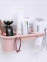 cheap -traceless stick hair dryer rack powerful bathroom non-punch shelving rack bathroom hair dryer rack storage rack