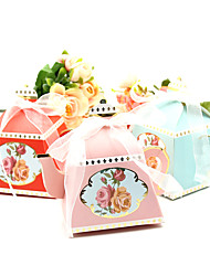 cheap -irregular Pearl Paper Favor Holder with Ribbons Household Sundries / Cupcake Wrapper and Boxes / Gift Boxes - 50 pcs