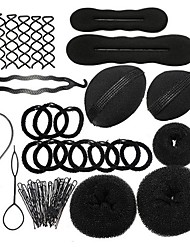 cheap -Hair Styling Accessories DIY Salon Design Simple Fast Spiral Braid Modelling ToolsHairdress Kit For Girls or Women