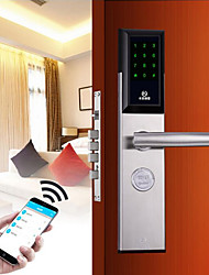 cheap -Smart Lock Combination Lock Smart Home Security System RFID / Password unlocking Apartment / Hotel / Villa Security Door / Wooden Door / Composite Door (Unlocking Model)