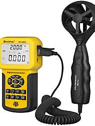 Недорогие -Holdpeak 856a, цифровой cfm-анемометр для измерения расхода воздуха, скорости, скорости, скорости ветра, с фиксацией задних световых данных и USB-соединением.