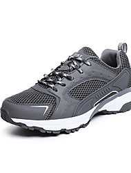 cheap -Men's Comfort Shoes Mesh Summer Casual Athletic Shoes Walking Shoes Breathable Black / Army Green / Gray