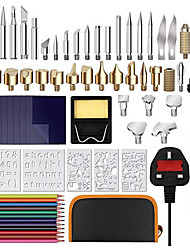 cheap -72 Sets of Temperature-adjusted Carving Tools 110V Set of Carving Tools