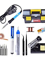 cheap -Internal Heat Type 60W Welding Torch Adjustable Temperature Soldering Iron Welding Tool Combination Kit