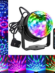 cheap -Party Lights Disco Ball Dj Lights Blingco Disco Lights Sound Activated Strobe Lights Party Ball Light LED Stage Lights Effect Show Lighting Disco Light for Birthday DJ Kids Xmas Club Karaoke Wedding