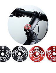 cheap -Bike Headset Cap / Cover Mountain Bike / MTB / Mountain Bike MTB / Road Cycling Lightweight / Durable / Easy to Install Aluminum Alloy Black / Red / Black-white
