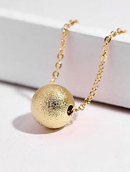cheap -Women's Necklace Charm Necklace Chrome Rose Gold Gold Silver 45 cm Necklace Jewelry 1pc For Daily Holiday School Street Festival