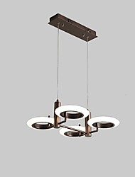 cheap -4-Light 50 cm Mini Style / Dimmable / LED Chandelier Metal Mini Painted Finishes Artistic / Modern 110-120V / 220-240V