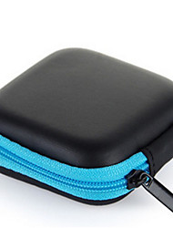 cheap -Headphone Carry Bag Simple Style Apple Airpods Samgsung Galaxy Buds AKG Scratch-proof PU Leather