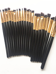 cheap -Professional Makeup Brushes 20pcs Full Coverage Comfy Wooden / Bamboo for Makeup Brush
