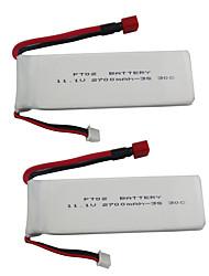 Недорогие -Feilun FT012 11.1V 2700mAh 2pcs батарея