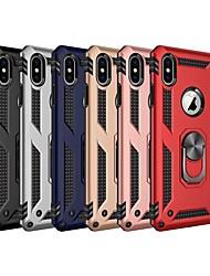 abordables -cas pour apple iphone xr / iphone xs max avec support / capot arrière anti-choc armure pc dur pour iphone 6s / iphone 6s plus / iphone 7 / iphone 7 plus / iphone 8 / iphone 8 plus / iphone x / iphone