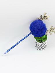 Недорогие -новогодние пластиковые рога для волос шарик синий карандаш ведущий шариковая подушка ремесло подарки для детей учиться офис канцтовары