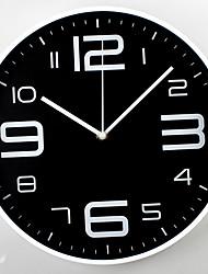 Недорогие -современный современный пластик пластик&усилитель; металлические круглые крытые / напольные настенные часы