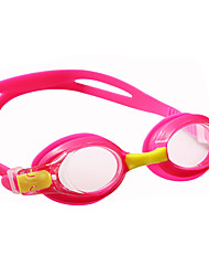 cheap -Swimming Goggles Waterproof Lightweight Anti-Fog For Kid's Polycarbonate PC Others Pink