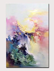 cheap -Mintura Large Size Hand Painted Abstract Landscape Oil Paintings On Canvas Modern Wall Art Picture For Home Decoration No Framed Rolled Without Frame
