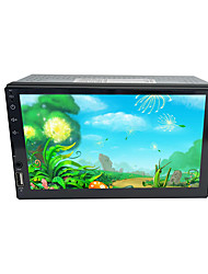 cheap -btutz TFT 7 inch 2 DIN Other OS Car MP5 Player Touch Screen / WiFi for universal HDMI Support MPEG / AVI / MP4 MP3 / WMA / WAV JPEG