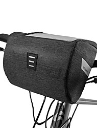 cheap -ROSWHEEL Cell Phone Bag Bike Handlebar Bag 6.2 inch Touch Screen Waterproof Cycling for iPhone 8 Plus / 7 Plus / 6S Plus / 6 Plus iPhone X Black Road Bike Mountain Bike MTB Outdoor