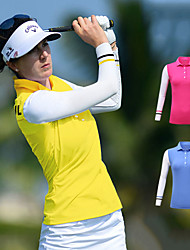 cheap -Women's Polos Shirt Long Sleeve Golf Running Workout Athleisure Outdoor Autumn / Fall Spring Summer / Micro-elastic / Breathable