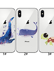 cheap -Case For Apple iPhone XS / iPhone XR / iPhone XS Max Pattern Back Cover Animal Soft TPU