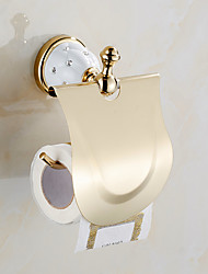 cheap -Toilet Paper Holder Creative Metal 1pc Wall Mounted