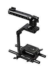 cheap -Camera Cage Rig w/Top Handle Tripod Mount Plate for Canon Nikon Sony Panasonnic C1136