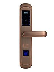 cheap -Factory OEM A2 Aluminium alloy lock / Fingerprint Lock / Intelligent Lock Smart Home Security System Fingerprint unlocking / Password unlocking / Mechanical key unlocking Home / Office Security Door