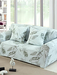 cheap -Leaves Print Durable Soft High Stretch Slipcovers Sofa Cover Washable Spandex Couch Covers