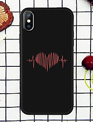 cheap -Case For Apple iPhone XR / iPhone XS Max Pattern Back Cover Heart Soft TPU for iPhone 6 / iPhone 6 Plus / iPhone 6s