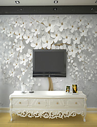 cheap -White Rich Tree Suitable for TV Background Wall Wallpaper Murals Living Room Cafe Restaurant Bedroom Office XXXL(448*280cm)